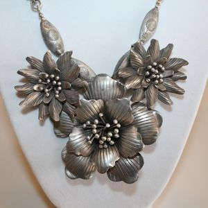 Jewelry - Thai and Sterling Silver Necklace and earrings set